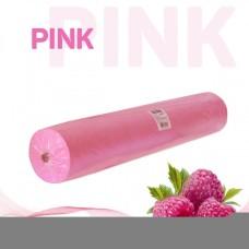 Простынь 70*200 см розовая Standart 100 шт/рул