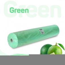 Простынь 70*200 см зеленая Standart Plus 100 шт/рул
