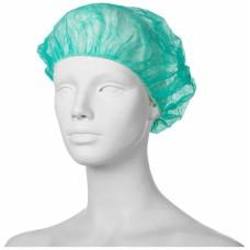 Шапочка медицинская Шарлотта зеленая 100 шт.