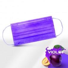 Маски медицинские фиолетовые 50 шт