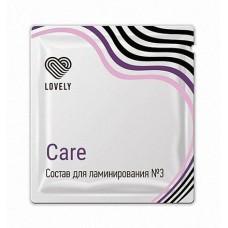 """Ламинирование №3 Lovely """"Care"""",  саше 1гр."""