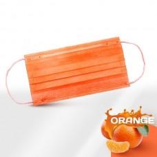 Маски медицинские оранжевые 50 шт