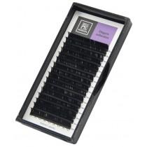 Ресницы Barbara черные, изгиб L+, микс