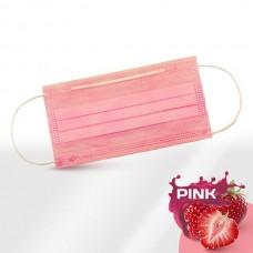 Маски медицинские розовые 50 шт