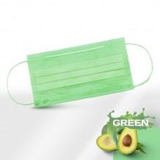 Маски медицинские зеленые 50 шт
